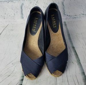 Ralph Lauren Women's Cecilia Wedge Sandal